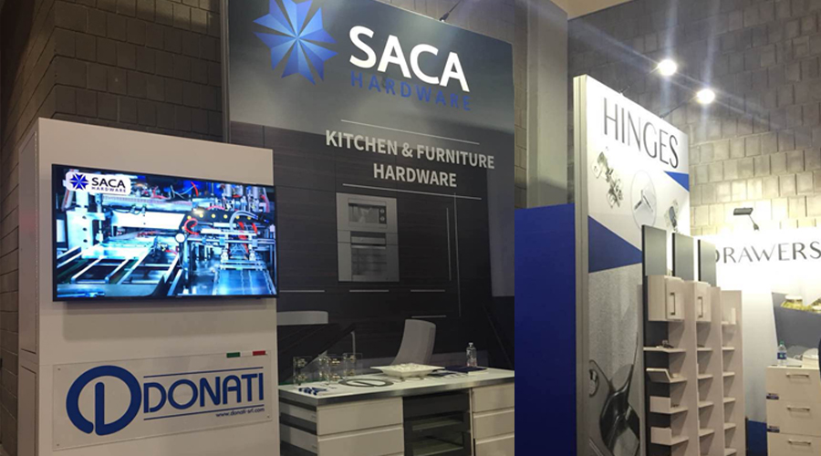 Across the Pacific Ocean, SACA is featured in the 2018 us IWF exhibition