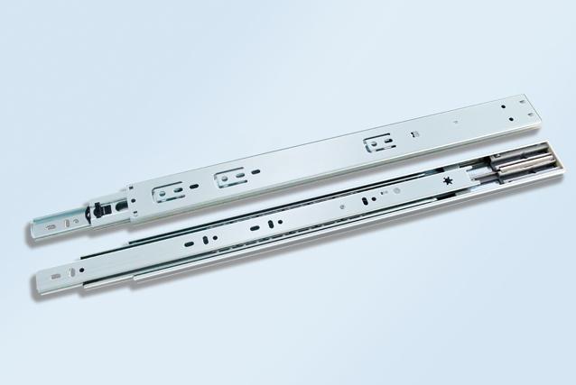 SH4605FC-DS 三节缓冲双弹簧滚珠滑轨