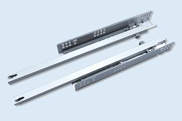 N2F2C-B 二节隐藏式轻型缓冲滑轨
