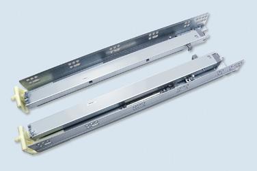 N3F2Z 美式三节隐藏式缓冲滑轨