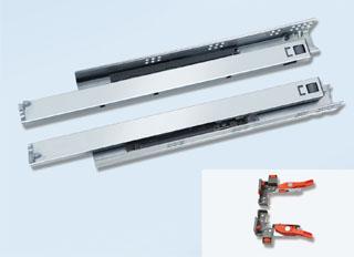 N3F1 Soft-closing Concealed Full Extension Slide