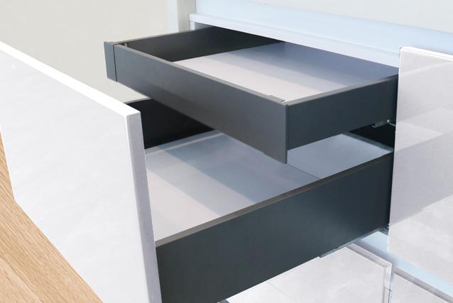 DZ63N Slim luxury double wall drawer-(Lower Inner drawer)