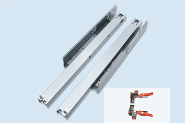 N3R1C-T Push-open concealed full extension slide