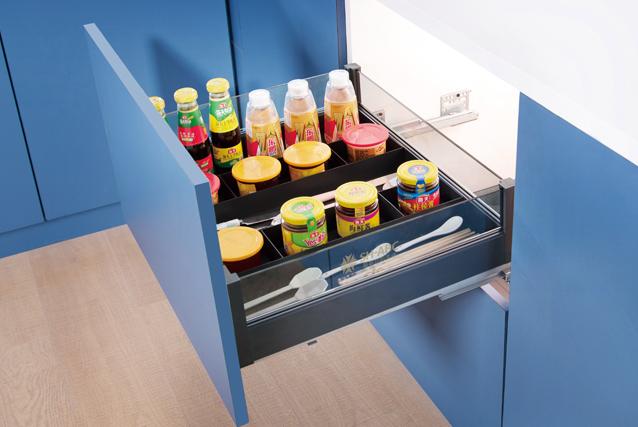 Multifunction separation drawer
