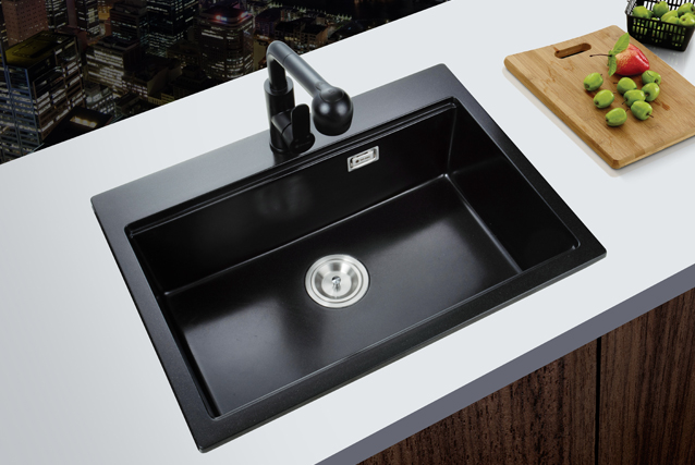SH6849G Quartzite sink